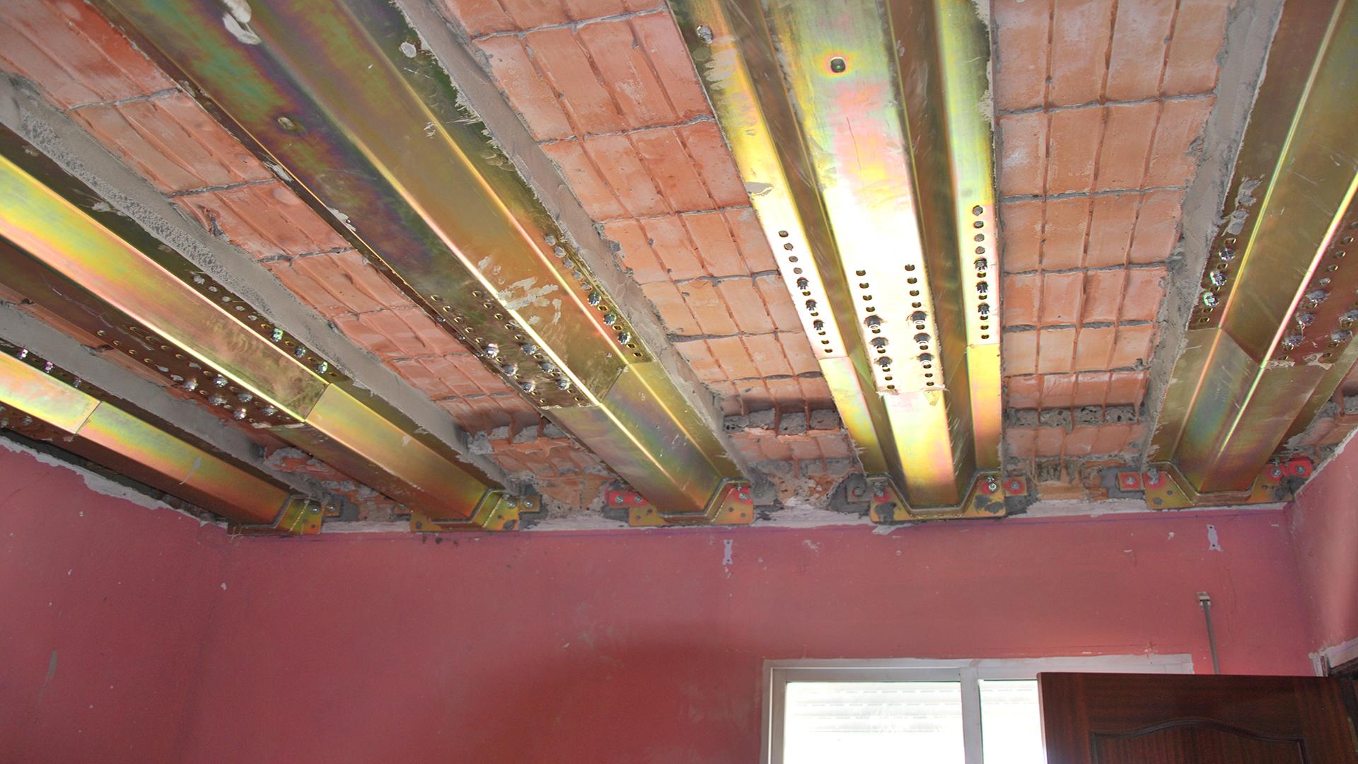 Sustitución de estructuras con mecanoviga Eco Global Homes